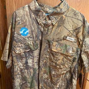Megellan Camo Fishing shirt